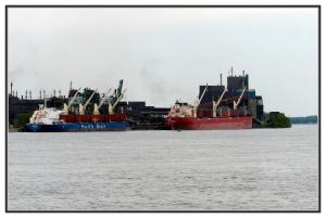 Aux quais des débarquements