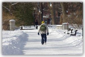 Ces longues marches et promenades solitaires au gré des souvenirs d'enfance et de froidure