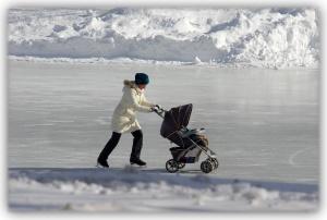 Qui a dit que les scènes d'hiver devaient être dépourvues d'originalité?